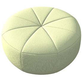 Pouffe 3d Object Free Artlantis Objects Download