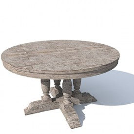 Flamant Table Renate 3D Object | Artlantis Objects Download