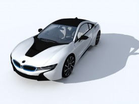 BMW i8 2015 3D Object | FREE Artlantis Objects Download