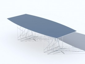 Synapsis table 3D Object | FREE Artlantis Objects Download