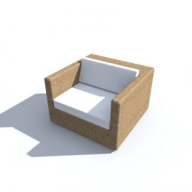 Dedon Lounge Chair 3d Object Free Artlantis Objects Download