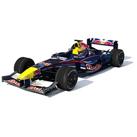 F1 Red Bull 3D Object | FREE Artlantis Objects Download