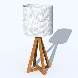 200 Vertical Lamp 3D Object | FREE Artlantis Objects Download