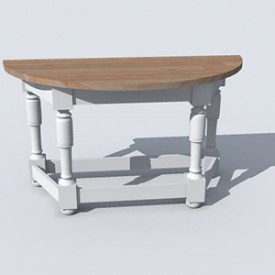 Flamant Console Table Harrison 3D Object | Artlantis Objects Download