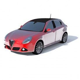 Alfa Romeo Giulietta 3D Object | FREE Artlantis Objects Download