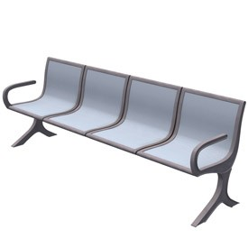 Waiting Room Bench 3d Object Free Artlantis Objects Download