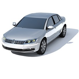 Volkswagen Phaeton 3D Object | FREE Artlantis Objects Download