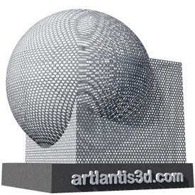 Perforated sheet Shader | Artlantis Materials FREE Download