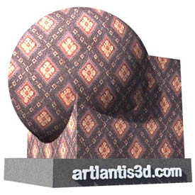 Dianonds carpet Shader | Artlantis Materials FREE Download