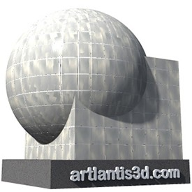 Stainless steel tile Shader | Artlantis Materials FREE Download