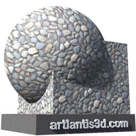 Stones Shader | Artlantis Materials FREE Download