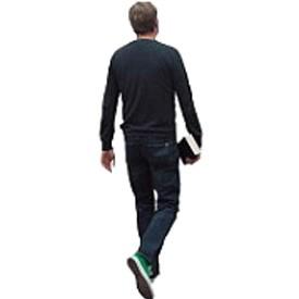 Man back 3 Billboard | Artlantis Billboards FREE Download