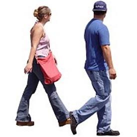 Walking People Billboard Artlantis Billboards Free Download