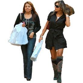 Ladies from shopping Billboard   Artlantis Billboards FREE Download