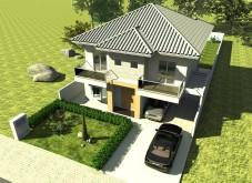 My house...