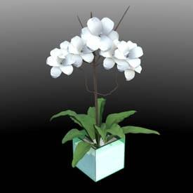 decoration flower 3D Object | FREE Artlantis Objects Download