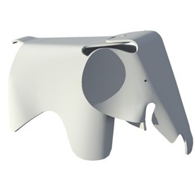 Beautiful Elephant Chair For Kids 3D Object   FREE Artlantis Objects Download Nice Look