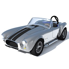 AC Cobra Shelby 3D Object | FREE Artlantis Objects Download