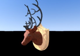 deer trophy 3D Object | FREE Artlantis Objects Download