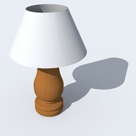Flamant Lamp Helmsley 3D Object | Artlantis Objects Download