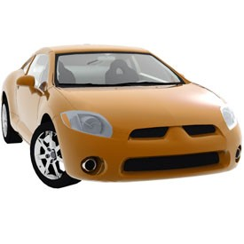 Mitsubishi Eclipse 3D Object | FREE Artlantis Objects Download