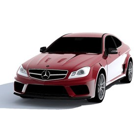 Mercedes C63 AMG Coupe 3D Object | FREE Artlantis Objects Download