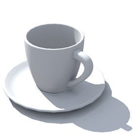 Another Coffee Cup 3d Object Free Artlantis Objects Download