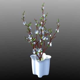 Interior flower 3D Object | FREE Artlantis Objects Download