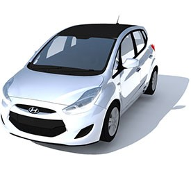 Hyundai i20 3D Object | FREE Artlantis Objects Download