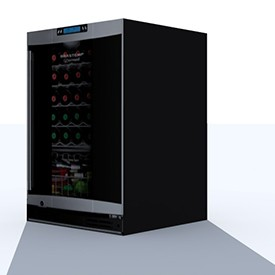 Brastemp Wine Cooler 3D Object | FREE Artlantis Objects Download