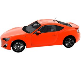 Toyota GT86 3D Object | FREE Artlantis Objects Download