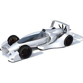 Caparo T1 3D Object | FREE Artlantis Objects Download