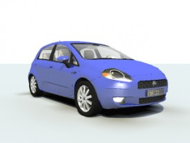 Fiat Punto 3D Object | FREE Artlantis Objects Download