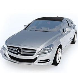 Mercedes-Benz CLS 3D Object | FREE Artlantis Objects Download