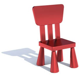 Ikea mammut chair 3d object free artlantis objects download - Silla mammut ikea ...