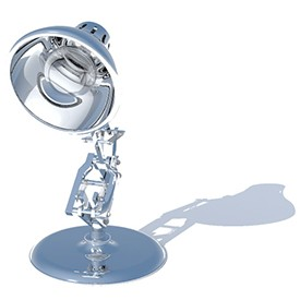Pixar Lamp 3D Object | FREE Artlantis Objects Download