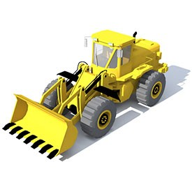 Caterpillar T530 3D Object | FREE Artlantis Objects Download