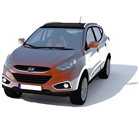 Hyundai IX35 3D Object | FREE Artlantis Objects Download