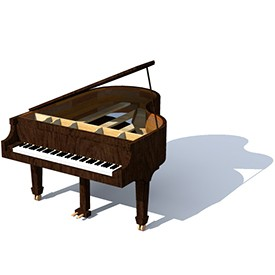 Stienway piano 3D Object | FREE Artlantis Objects Download