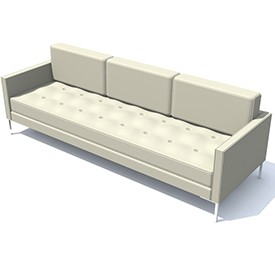 Blu Dot paramount sofa 3D Object | FREE Artlantis Objects ...