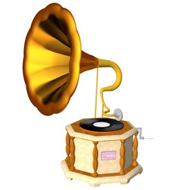 Gramaphone 3d Object Free Artlantis Objects Download