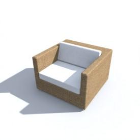 Dedon Lounge Chair 3d Object Free Artlantis Objects Download