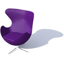 egg armchair 3d object free artlantis objects download. Black Bedroom Furniture Sets. Home Design Ideas