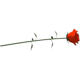 Red Rose 3D Object | FREE Artlantis Objects Download