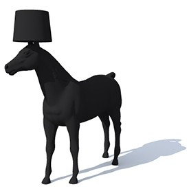 Moooi Horse Lamp 3D Object | FREE Artlantis Objects Download