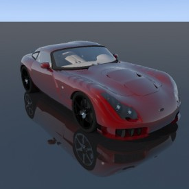 TVR Sagaris 3D Object | FREE Artlantis Objects Download