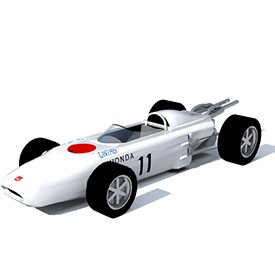Honda F1 RA272 3D Object | FREE Artlantis Objects Download