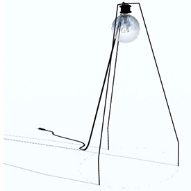 Floor Lamp 3D Object | FREE Artlantis Objects Download