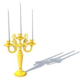 Candelabra 3D Object | FREE Artlantis Objects Download