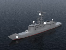 USS Boone 3D Object | FREE Artlantis Objects Download